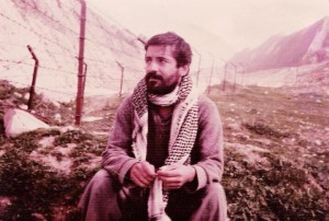Dr Osman Ahmed in an Iranian prison camp.