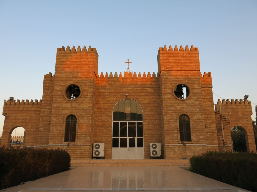 2.This Saint Joseph's Church located in Ankawa really shows how intolerant the Kurds are towards other religions