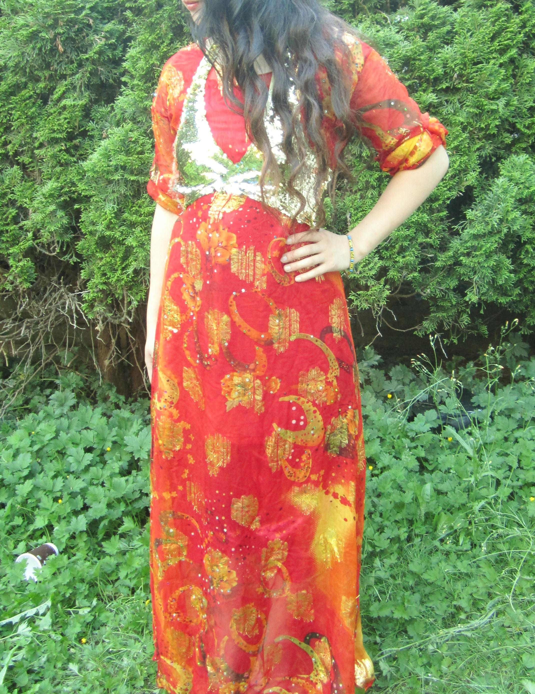 مدل لباس زنانه کردی جدید و زیبا.